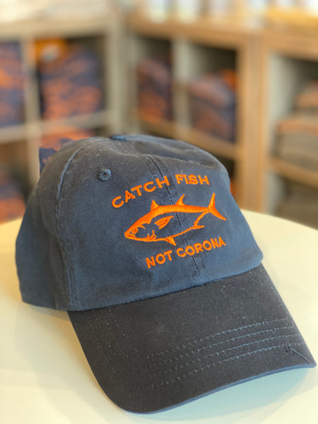 Catch Fish Not Corona Hot Tuna Hat