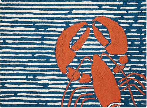 Waterline Lobster Rug