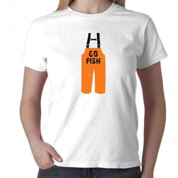 Go Fish T-Shirt - Ladies