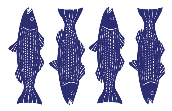 Stripers Vinyl Placemat
