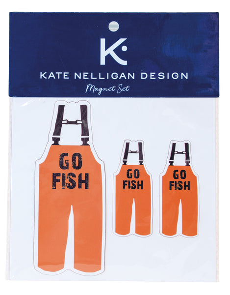 Go Fish Magnet Set