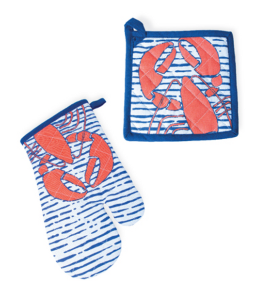 Waterline Lobster Pot Holder Set