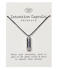 Wish Capsule Silver Necklace