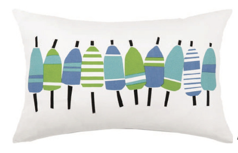 Blue Buoyline Pillow
