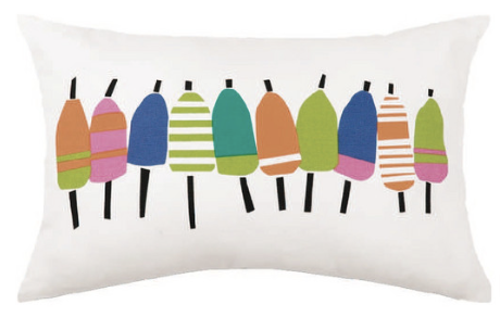 Multi-Color Buoyline Lumbar Pillow