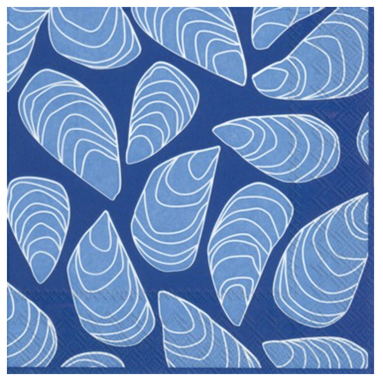 Blue Mussels Lunch Napkin