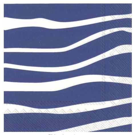 Wave Lunch Napkins & Guest Towels