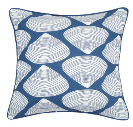 Clamshell Canvas Pillow