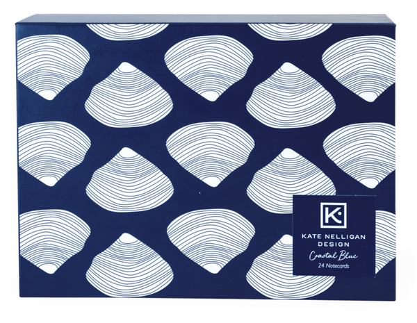 Coastal Blue Boxed Card Set