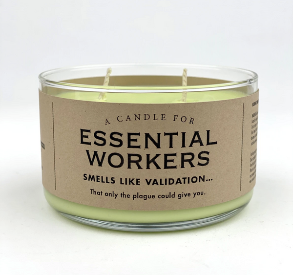 Essential Worker Candle