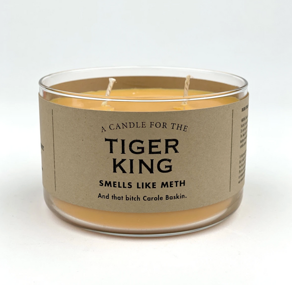 Tiger King Candle