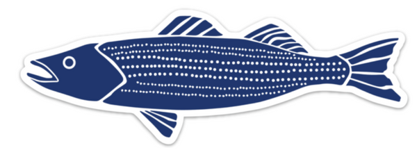 Striper Sticker