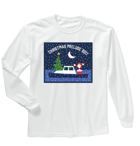 Christmas Prelude Santa Long Sleeve Shirt - Adult & Kids 2017