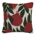 Pomegranate Hooked Pillow
