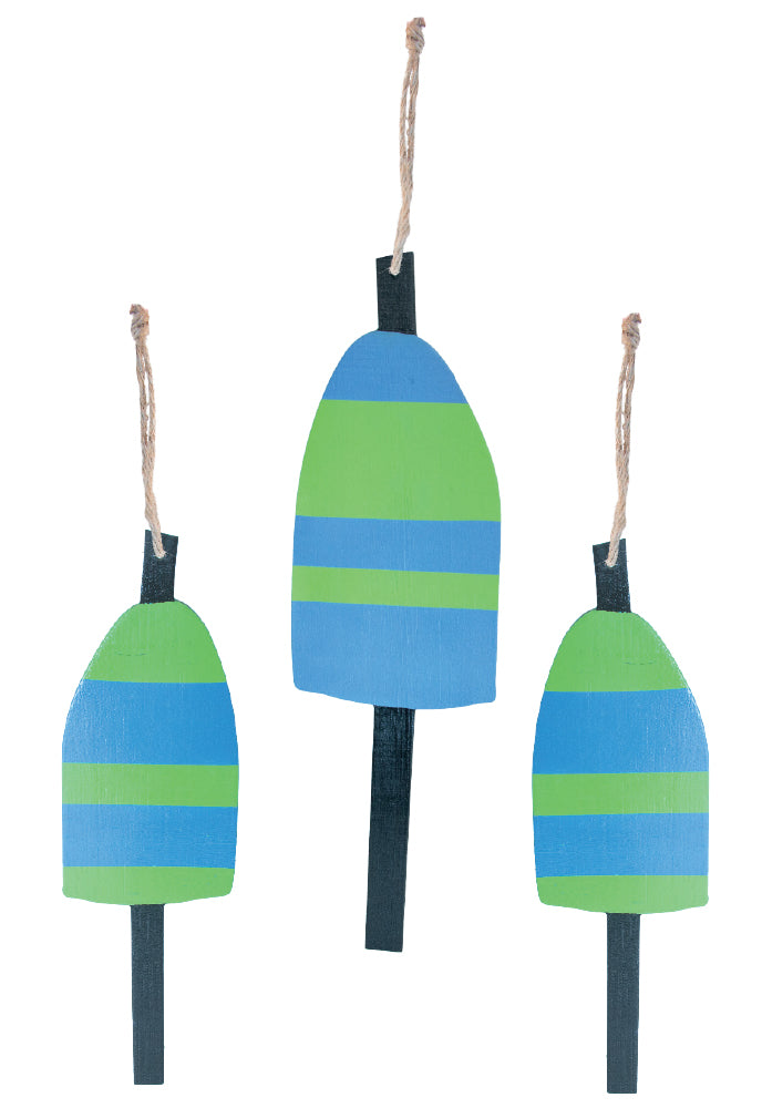 Periwinkle & Lime Buoys