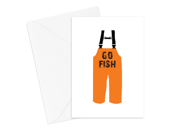 GO FISH Card