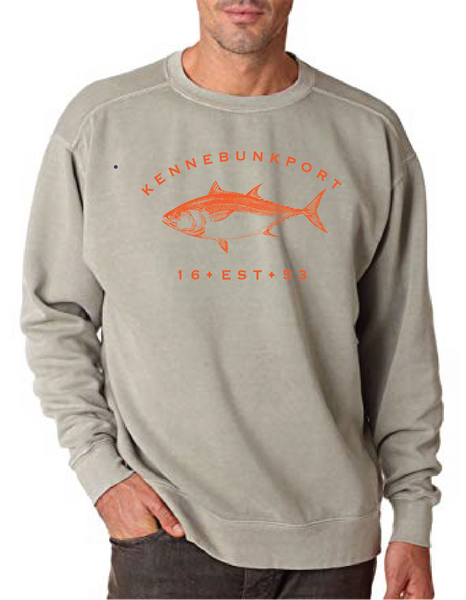 Hot Tuna Crew Neck Sweat - Adult