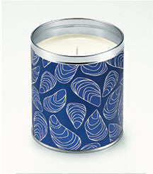 Blue Mussel Candle