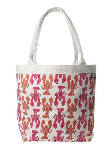 Dock Square Tote-Pink Lobster