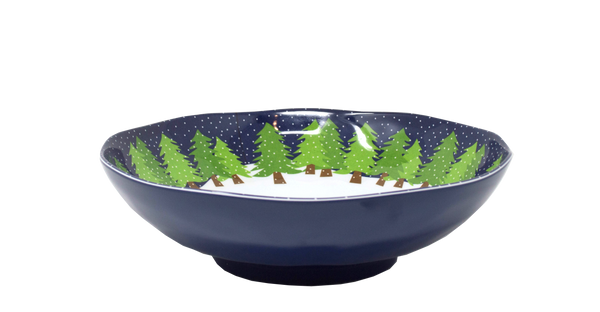 Midnight Snow Serve Bowl