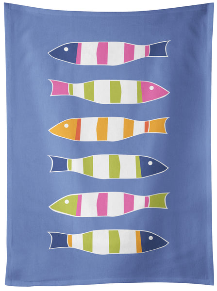 Picket Fish Tea Towel