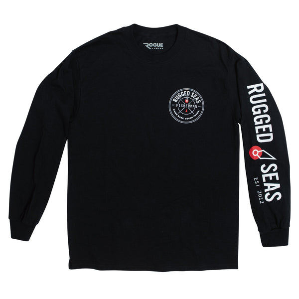 Rugged Seas Long Sleeve Black