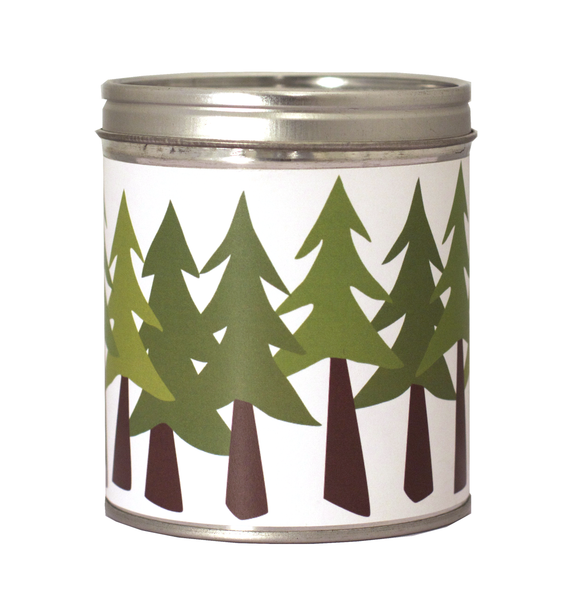 Pine Trees Candle