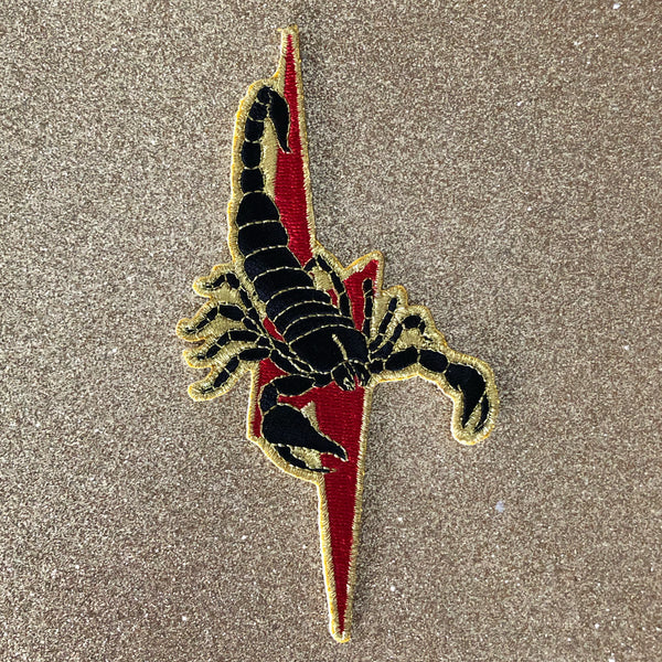 Scorpion & Lightning Bolt Patch