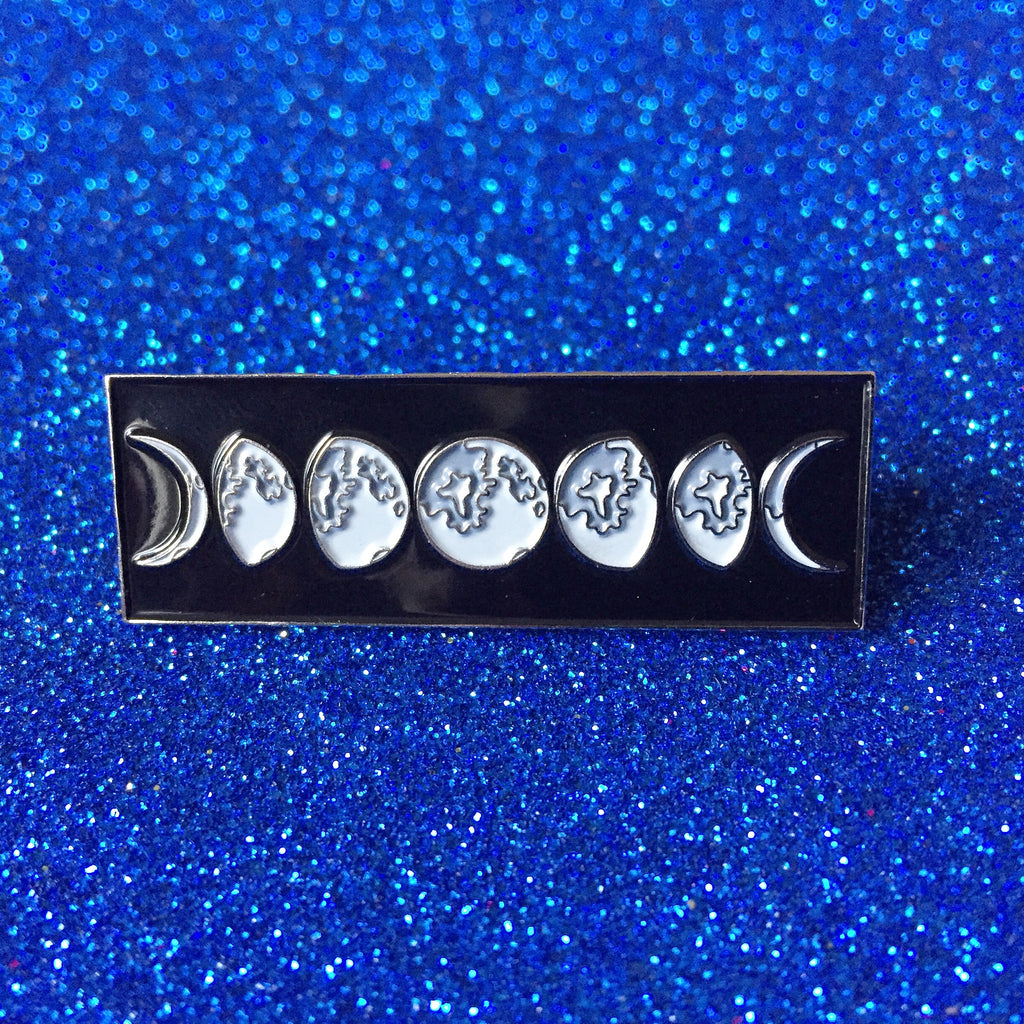 Moon Phases Pin