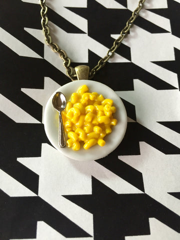 Mac 'n Cheese Necklace