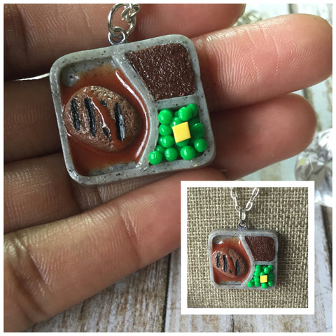 TV Dinner Necklace