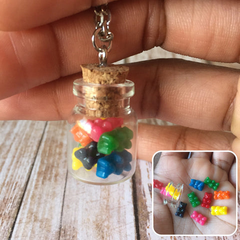 Gummy Bear Jar Necklace