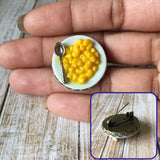 Mac & Cheese Brooch