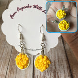 Mac & Cheese Drop Earrings