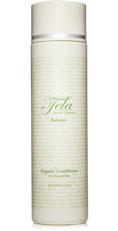 Tela Beauty Organics Balance organic hair conditioner for all hair types, gluten free