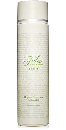 balance shampoo, self adjusting for all hair types, tela beauty organics, gluten free