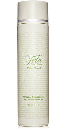 color guard conditioner, tela beauty organics haircare, anti color fade, organic conditioner