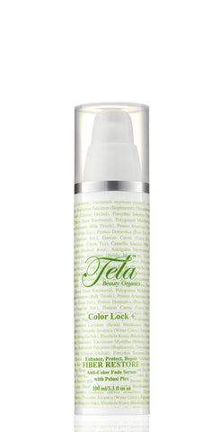 color lock plus anti color fade serum, hair fiber restore, tela beauty organics, anti color fade serum, anti color fade product