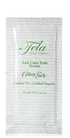 tela beauty organics color lock anti fade serum for lux vibrance and shine, anti-color fade