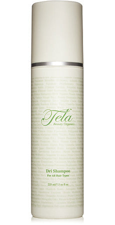organic dry shampoo tela beauty organics for hair and scalp, the best organic dry shampoo