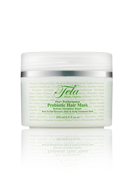 Tela Beauty Organics Probiotic Hair Mask, probiotic hair treatment