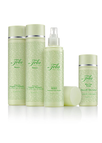 Smooth Operator Hair Smoothing Set by Tela Beauty Organics