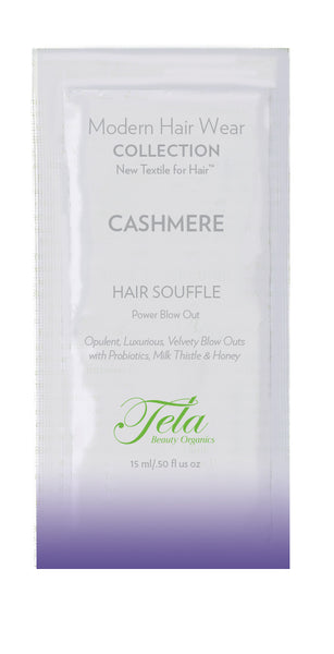 Tela Cashmere Hair Souffle, Power Blow Out Sachet