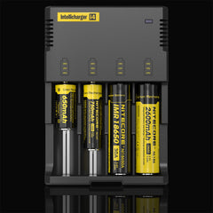 Nitecor i4 Battery Charger - Vape Cafe Ltd