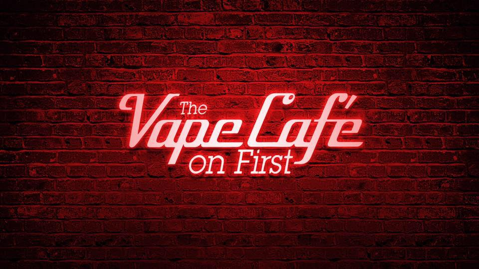 Vape Cafe on First E-Liquid