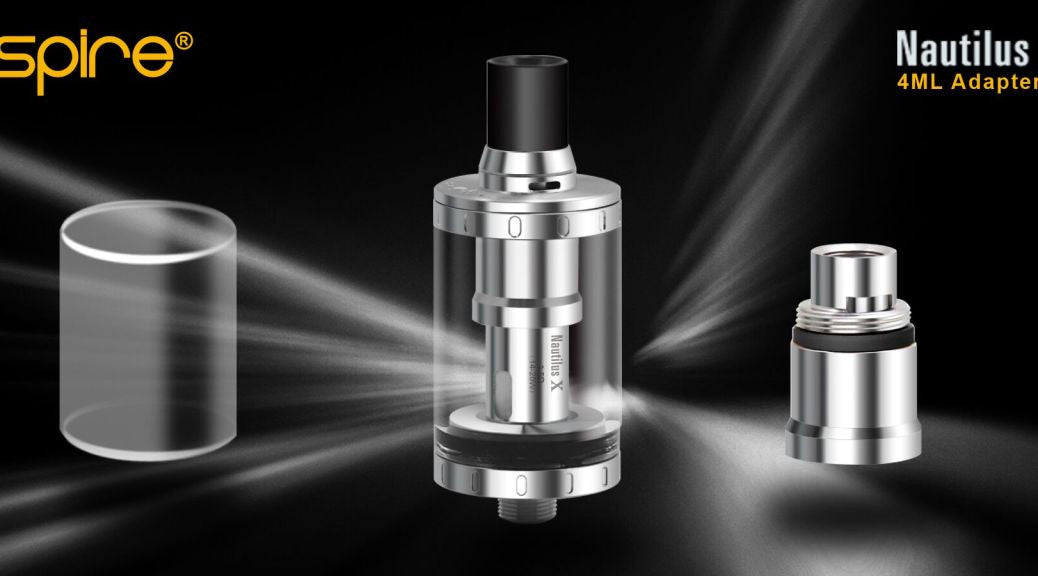 Aspire Nautilus X 4ml adapter kit - Vape Cafe Ltd