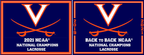 University of Virginia 2019 National Champions Lacrosse
