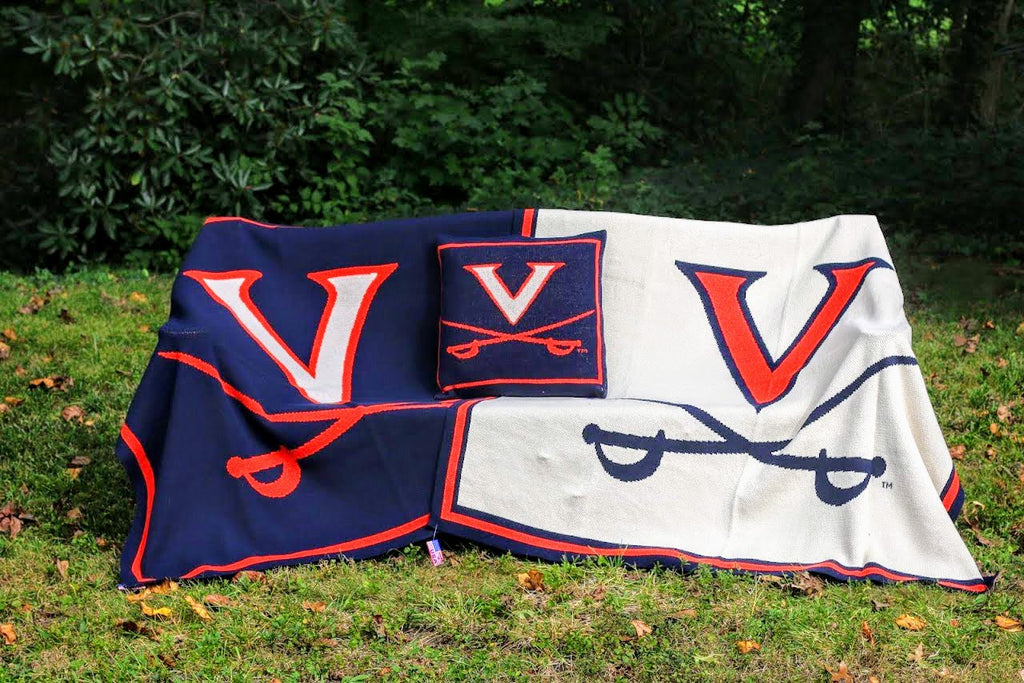 University of Virginia Dorm, Family, Graduation, Tailgate Blanket
