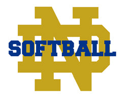 Notre Dame Softball Tailgate, Home or Dorm Blanket