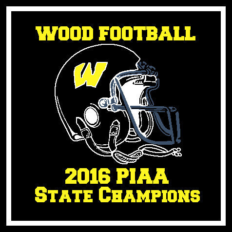 AB Wood 2016 PIAA Champions BLACK Football